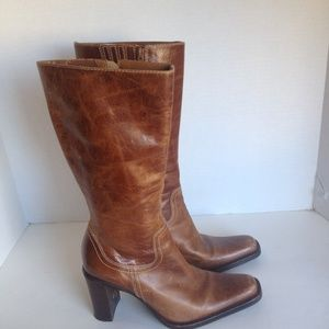 Steve Madden cowgirl boots Color: distressed brown